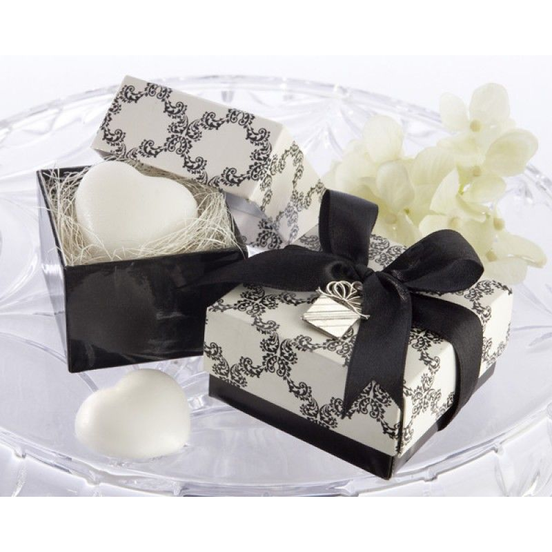 'Sweet Heart' Heart-Shaped Scented Soap with Kate Aspen Signature Charm