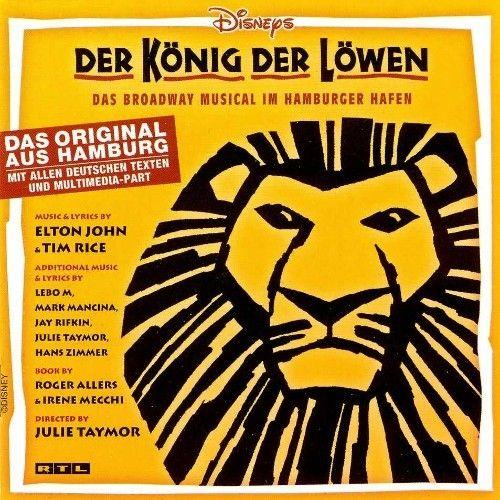 The Lion King Der Konig Der Lowen 2002 Original Hamburg Cast Castalbums Org 뮤지컬 런던