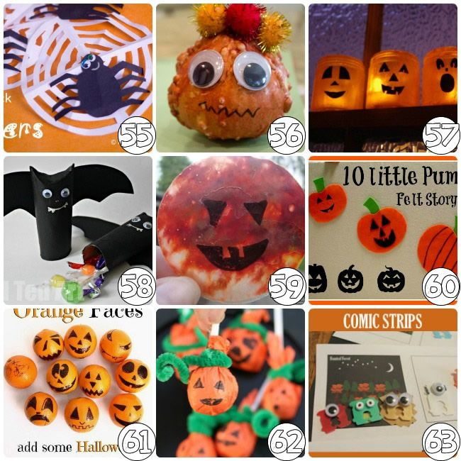 75 Halloween Craft Ideas for Kids Crafts, Halloween parties and - halloween kids craft ideas