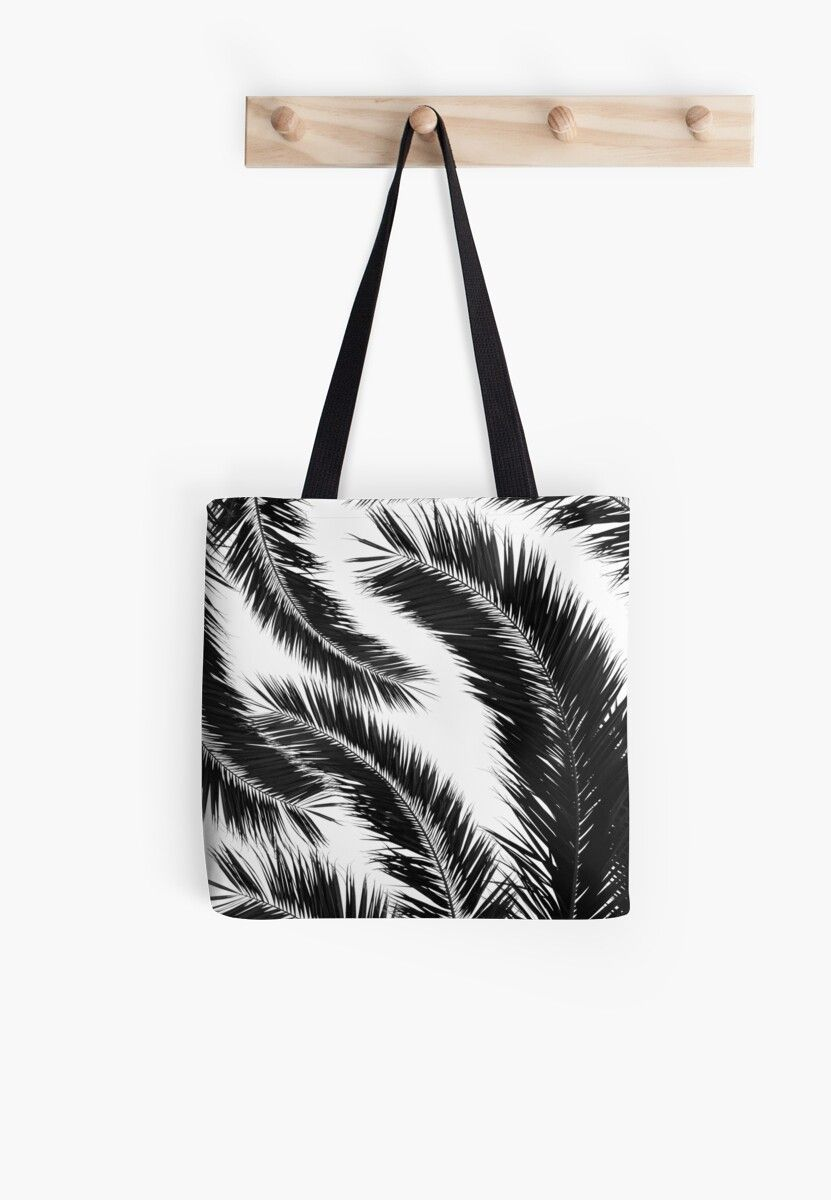 'Bohemian Palms Jungle Pattern #1 #tropical #decor #art' Tote Bag by anitabellajantz #junglepattern Bohemian Palms Jungle Pattern #1 #tropical #decor #art • Millions of unique designs by independent artists. Find your thing. #junglepattern