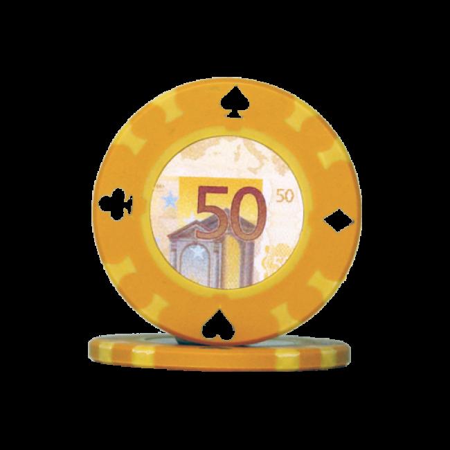 50 euro casino chip