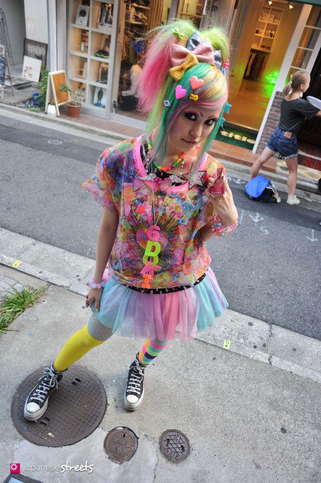 120812-9922 - Japanese street fashion in Harajuku, Tokyo