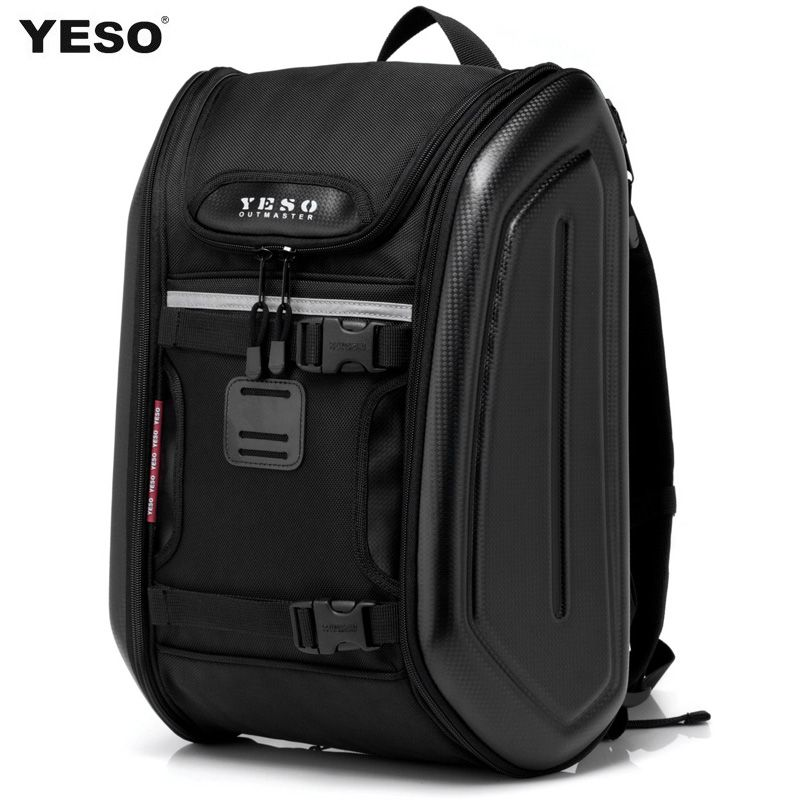 Yeso backpack men travel bag man motorcycle hard shell bag ride ...