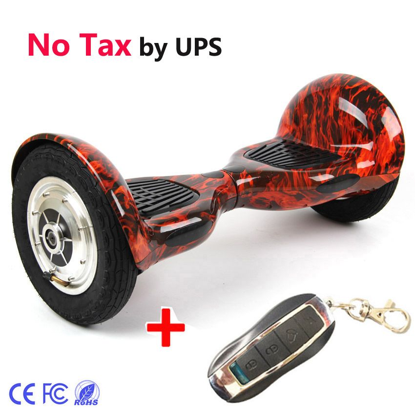 Ce Fcc 2 Wheel Self Balance Electric Scooter 700w 4400ma With Remote 10inch Hoverboard Unicycle Skateboard Standing Drift Scooter Balancing Scooter Hoverboard
