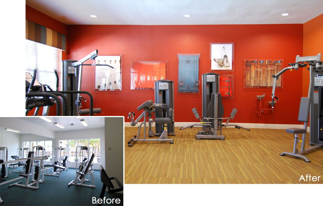 commercial gym interior design - Google Search | paint ideas ...