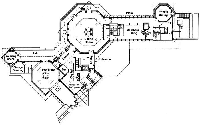 Frank Lloyd Wright Clubhouse Design Resort Design Plan Hotel Room Design Plan