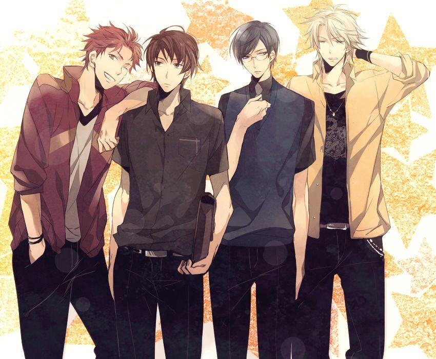 Ouran High School Host Club! With Haruhi as a boy...