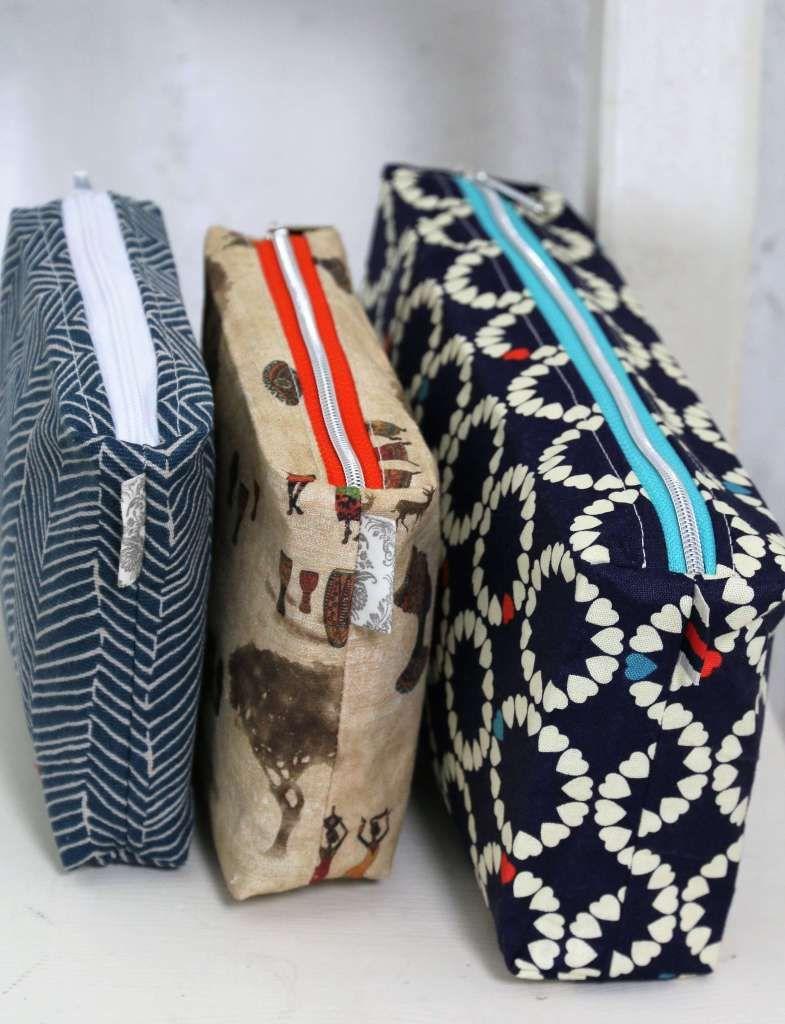 Kulturbeutel MALVA nähen | Schnittmuster in 2 Größen #textilepatterns