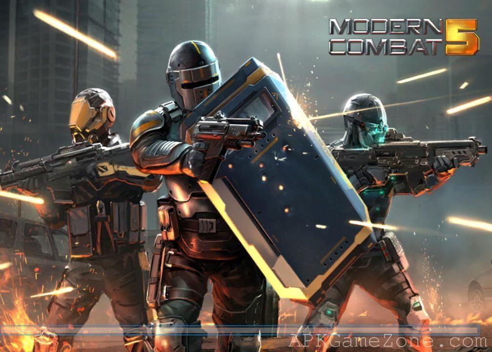 Modern Combat 5 eSports FPS VIP Mod Download APK