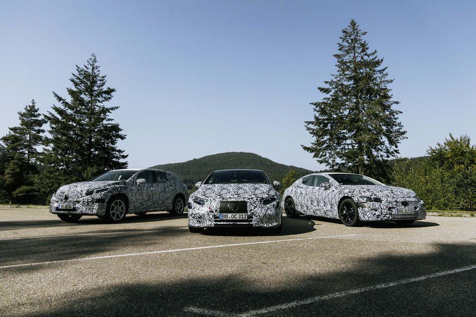Mercedes Confirms Eqs And Eqe Suvs Full Lineup Of Ev Models In 2020 Mercedes Benz Electric Car Range Mercedes