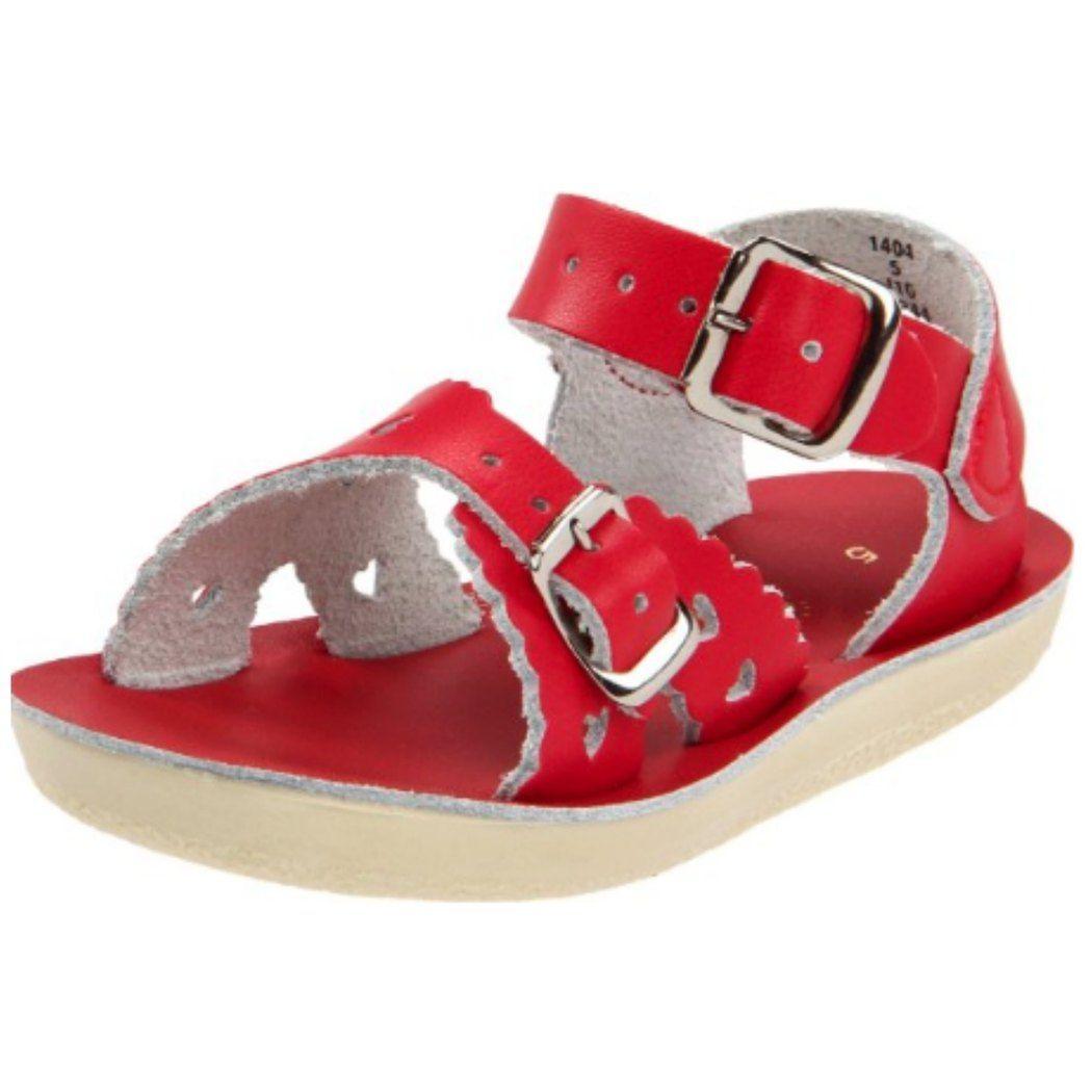 19e1fdb34fc0 Red Sweetheart Sandals Brand  Sun-San.