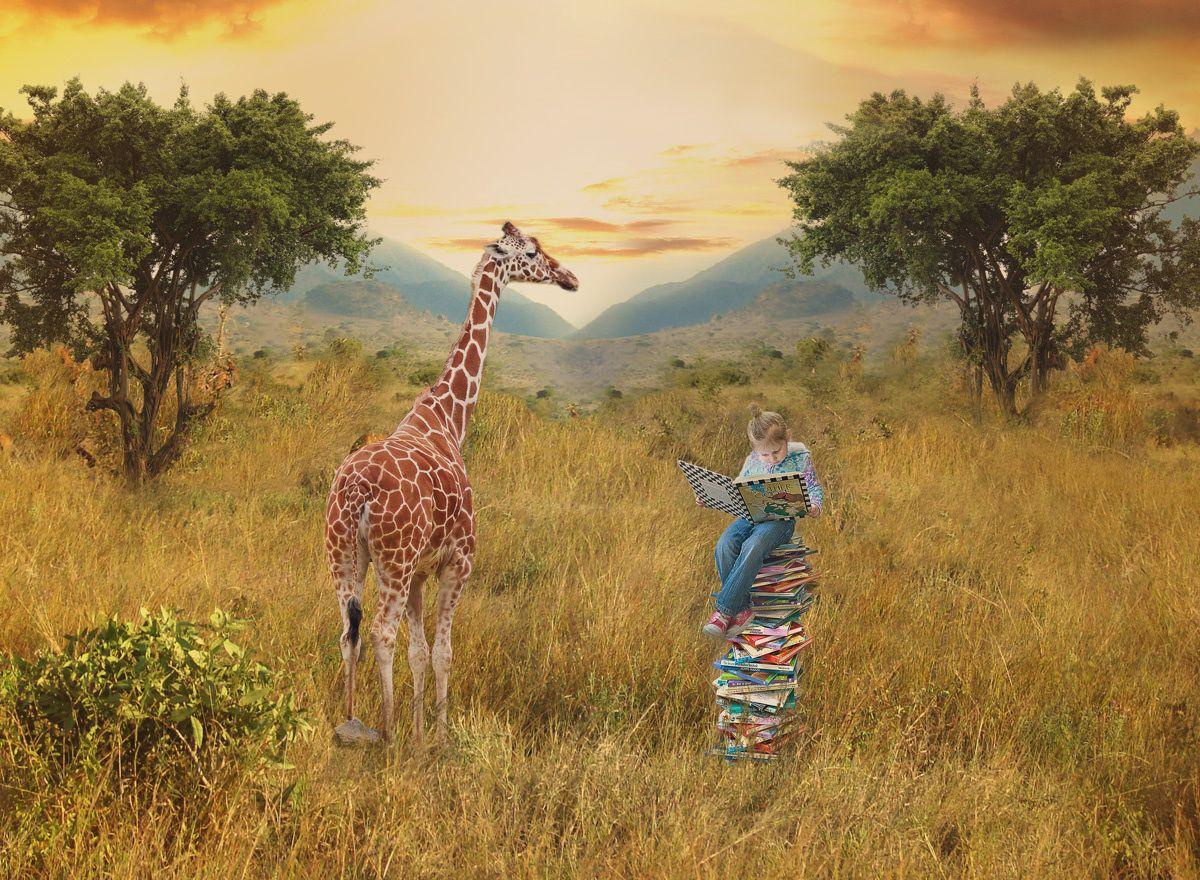 Millie & Mr. Giraffe by Paige Lyon on 500px