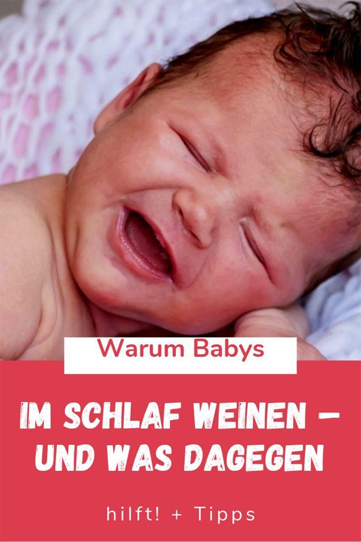 Baby weint im Schlaf: Das sind die Gründe | Baby weint