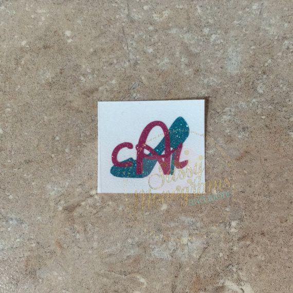 Glitter Magic Band Cinderella Glass by SassyMonogramAndMore