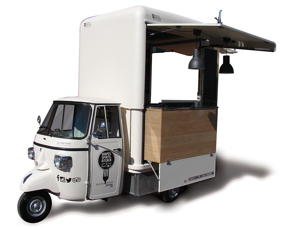 Ape Ristorante Bikemoto Pinterest Food Truck Coffee Carts And