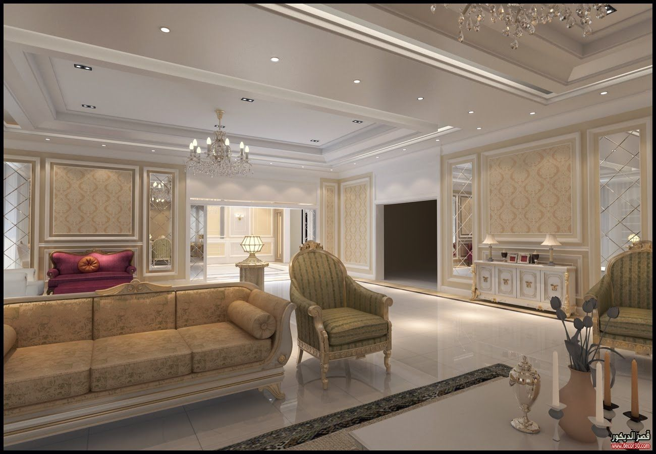 ديكورات فلل مودرن من الداخل Modern Villas Decoration From Inside قصر الديكور Classic Dining Room Holiday Room Home Interior Design
