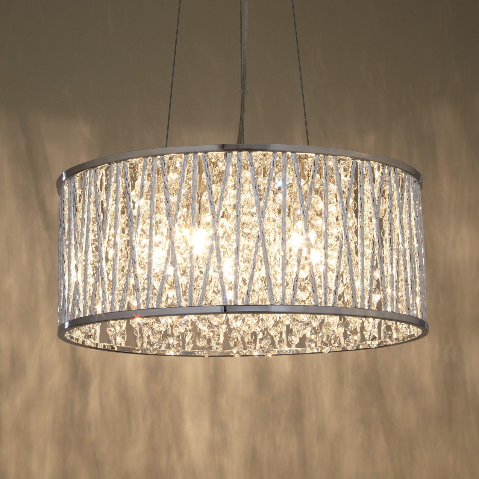 Exclusive Photo Of Large Drum Chandelier Interior Design Ideas Home Decorating Inspiration Moercar Crystal Ceiling Light Bedroom Ceiling Light Crystal Pendant Lighting