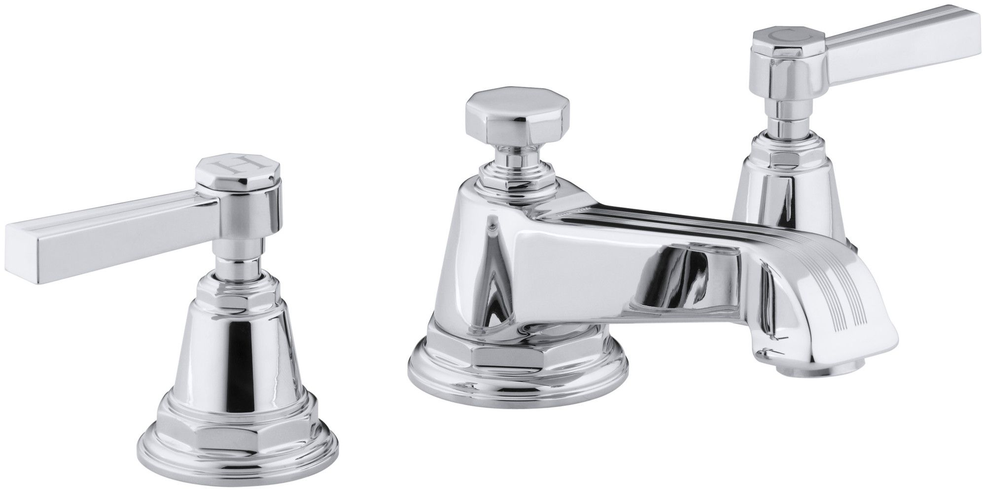 Features: Product Type: -Standard bathroom faucet. Finish: -Chrome ...