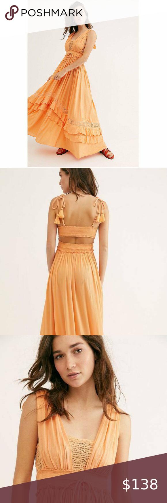 Free People Santa Maria Summer Maxi Dress Xs Summer Maxi Dress Free People Maxi Dress Dresses Xs [ 1740 x 580 Pixel ]