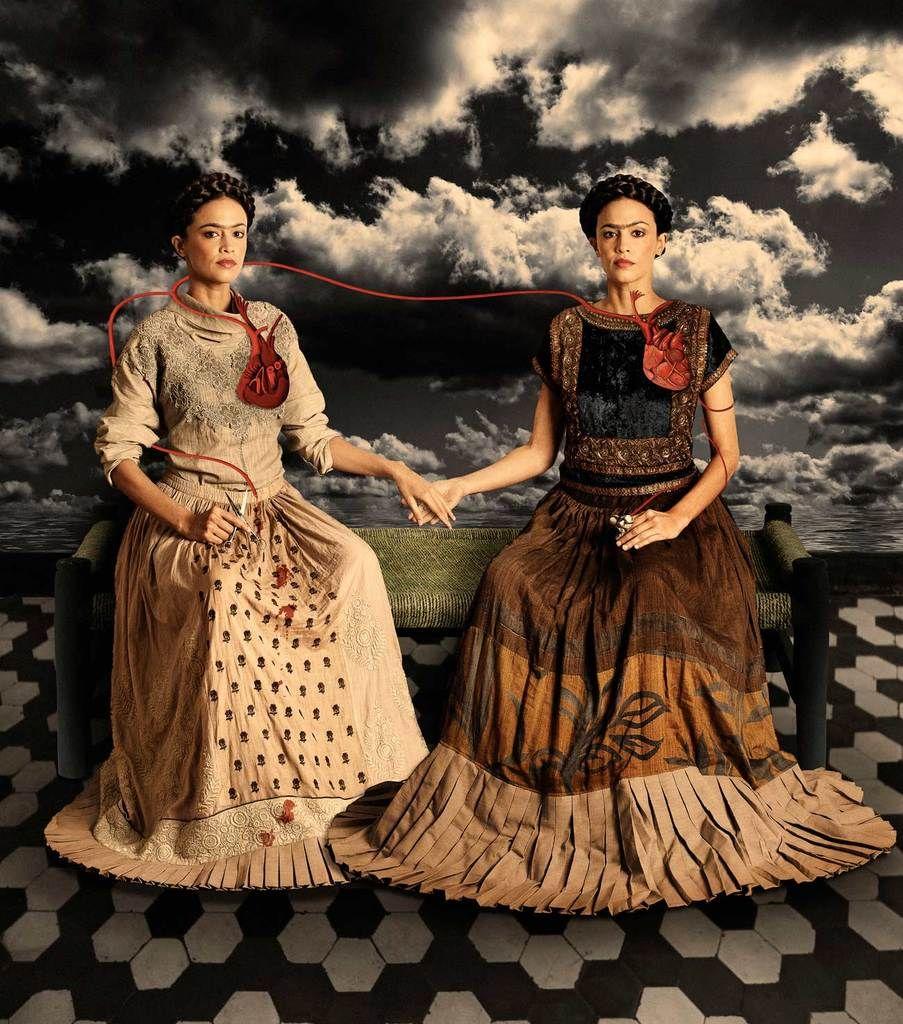 The Two Fridas (Tishani Doshi), 2012 Fine Art Phot