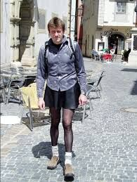 Men wearing pantyhose pics