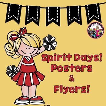 Spirit Days Posters