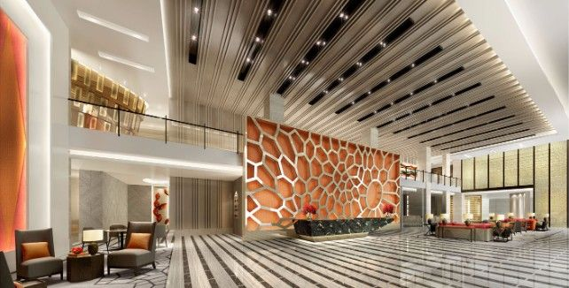 The Luxurious World Of Studio Hba Procurement With Images India Design Lobby Design Office Lobby Design