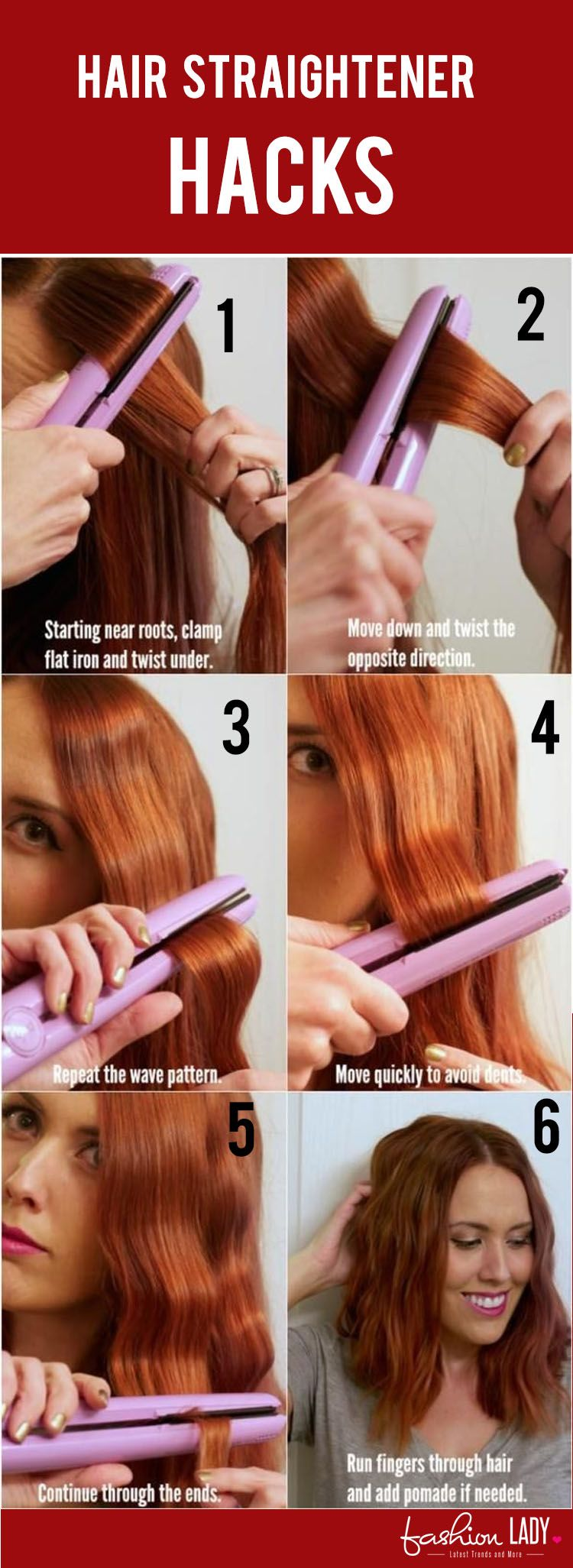 things these hair straightener hacks can surely teach you flat iron