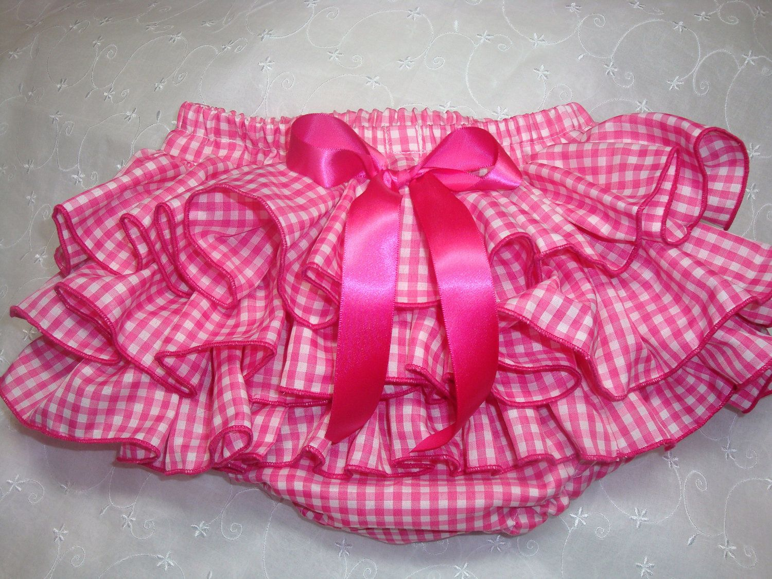 Ready to Ship 24 mos Sassy Fluffy Hot Pink by BloominCuties. $20.00, via Etsy.