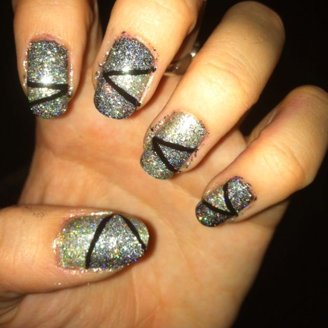 New years nails.