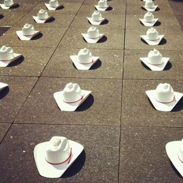 Calgary Stampede cowboy hat bingo Oil City a568a7c164b