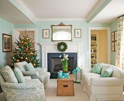 Benjamin Moore Serene Breeze 449 I Love This Color Palette