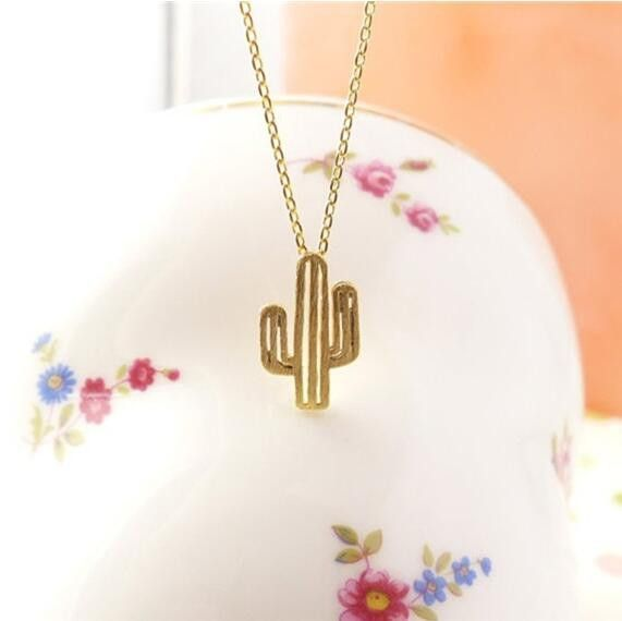 Fashion New Prickly Pear Cactus Necklace Jewelry Fashion Gift Pendant