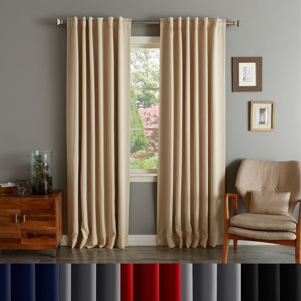Thermal curtains u an appealing window dressing that saves your
