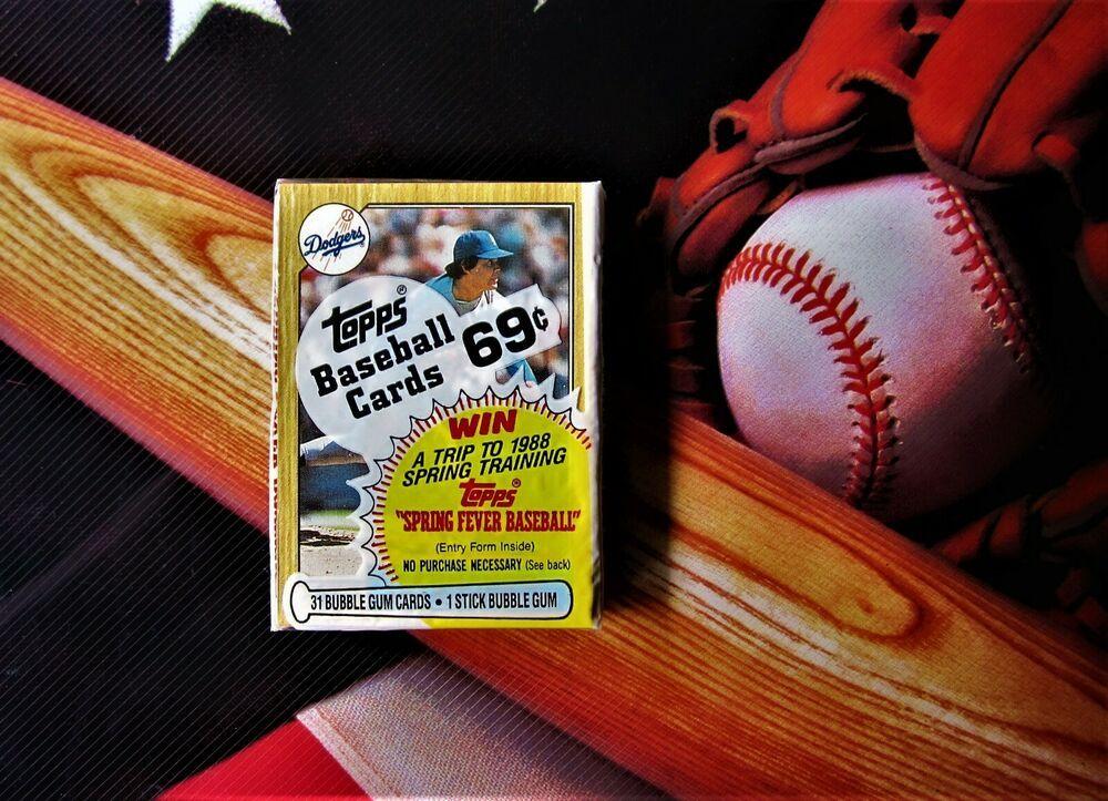 1987 topps baseball fernando valenzuela factory sealed
