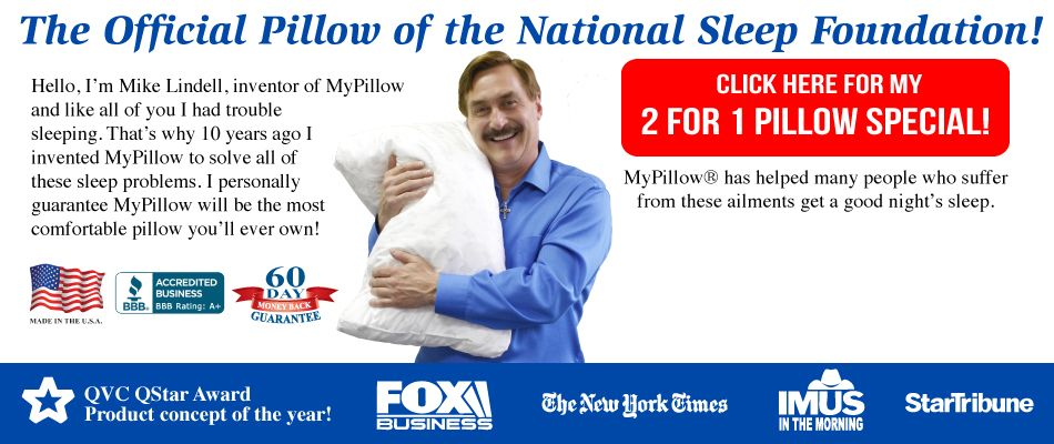 Best Mypillow Sup Sup Offer Ever Buy One Get One Free With