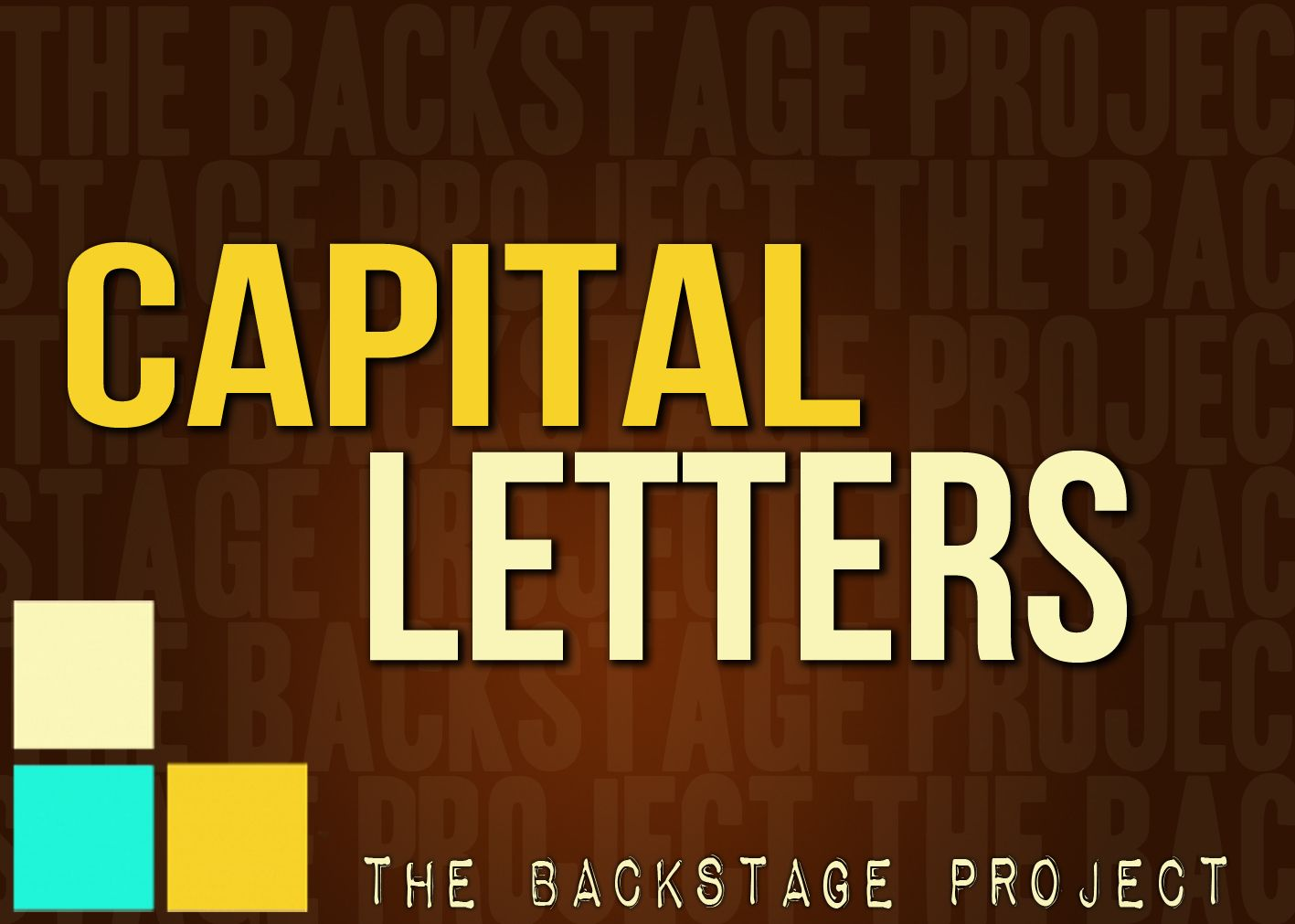 CAPITAL LETTERS Newsletter layout, Lettering, Layout design
