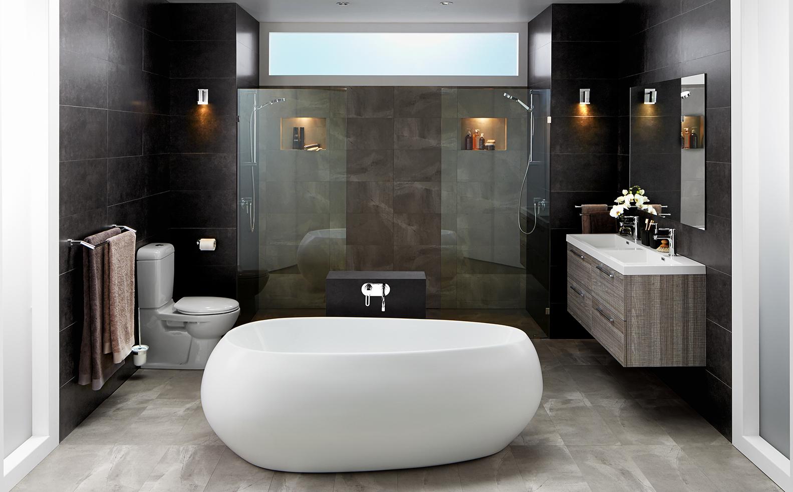Bathroom Ideas Bunnings White Bathroom Designs Bathroom Design Bathroom Tile Designs