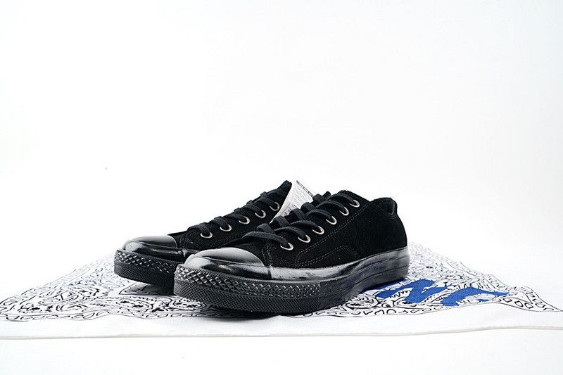 c038639a4a23 Converse 1970s Samsung black and white men and women engraved low  vulcanized shoes series