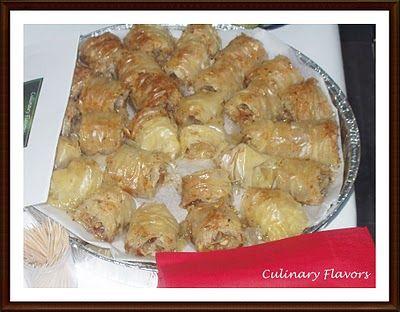 Culinary Flavors » Sourotos Baklavas (Family's Baklava Recipe) and an Award