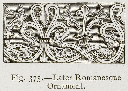 Characteristics Decorative Elements In Romanesque Art