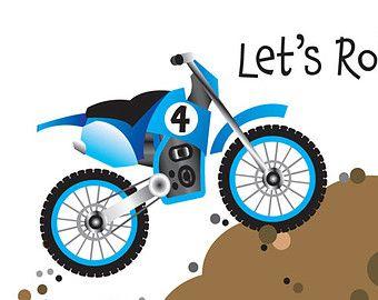 Dirt bike birthday party invitation and thank you card baby boy dirt bike birthday party invitation and thank you card filmwisefo
