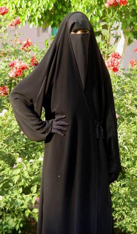 Second Life Marketplace - Freewoman Burqa Fatima Black