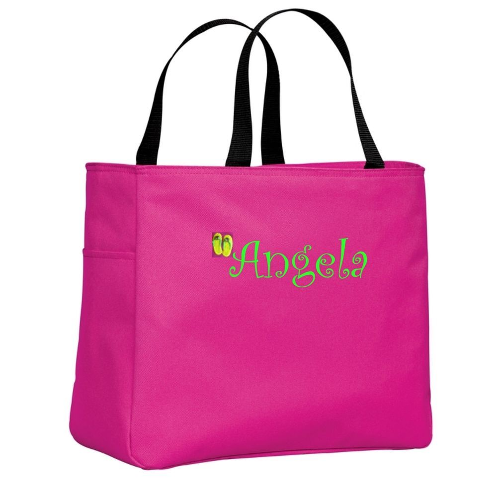 Cute Cheap Monogrammed Personalized Beach Bags and Totes Pool ...