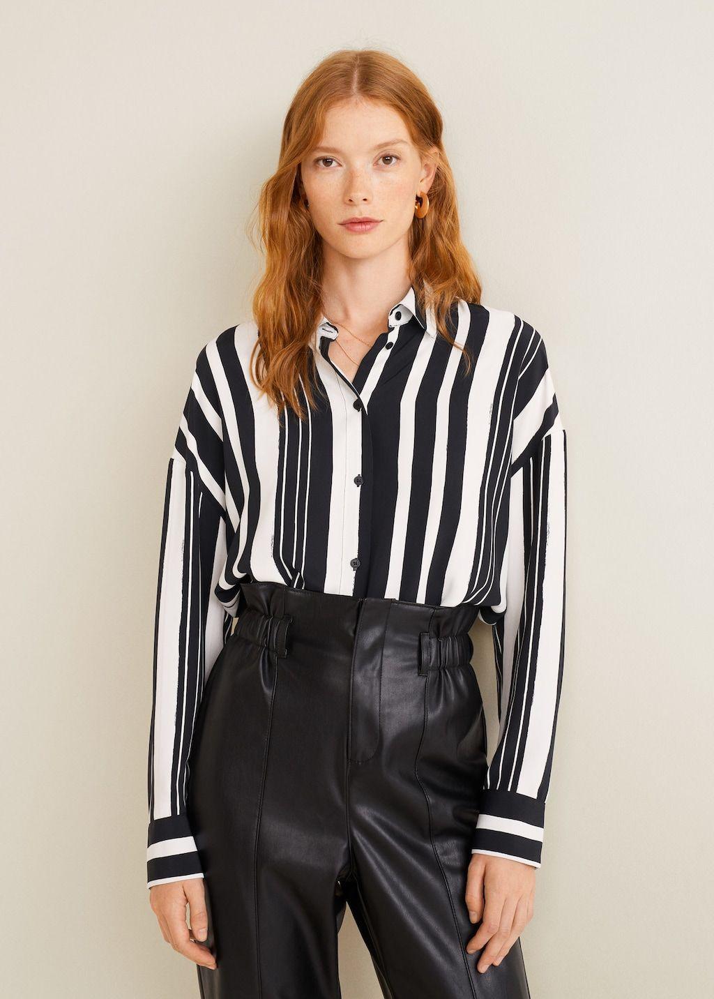 Blouse Of Overhemd.Blouse Met Geometrische Print Dames Blouse Pinterest Blouse