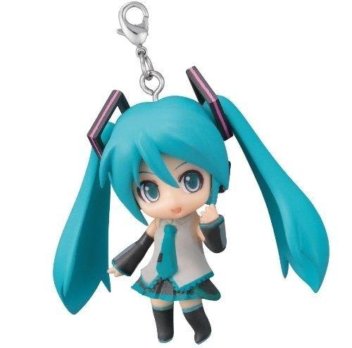 Goodsmile Vocaloid Miku Hatsune Nendoroid Plus Keychain Hatsune Miku Miku Hatsune
