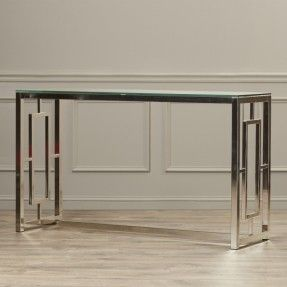 Superb Glass Foyer Table   Google Search