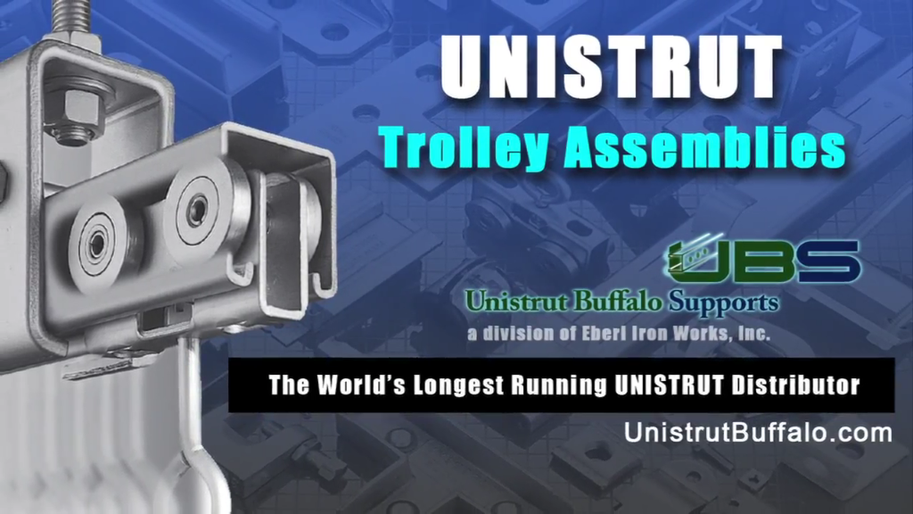 Unistrut Trolley Assemblies Mounting Options and Product