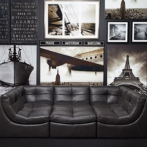 Z Gallerie Cloud Modular Sectional Grey The Best Family Movie Night Snuggle Couch Ever Want Sooo Badly