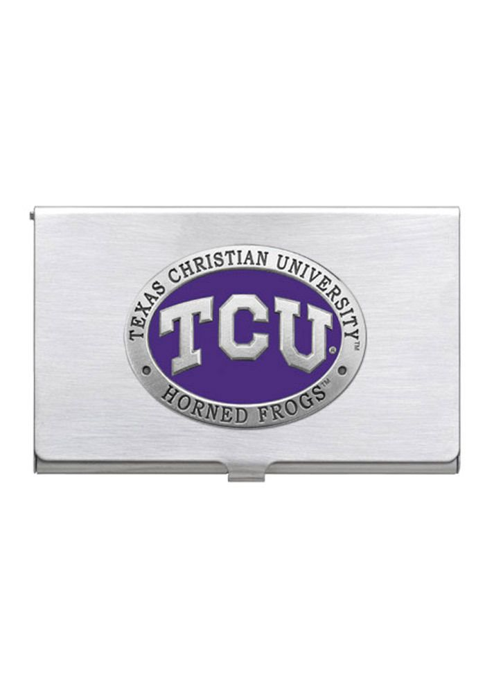 TCU Horned Frogs Card Case Mens Business Accessories   Go Froggies ...